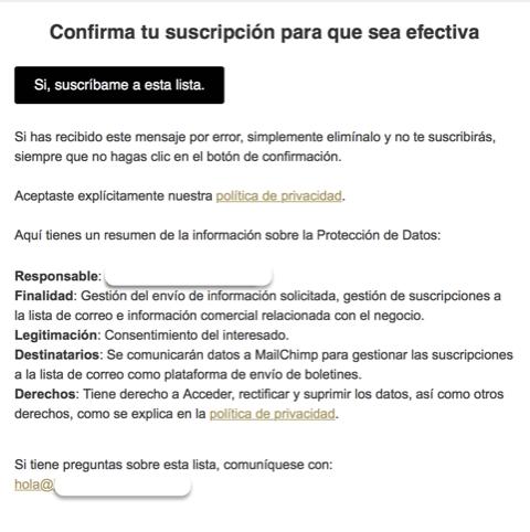 Ley de protección de datos renovada RGPD